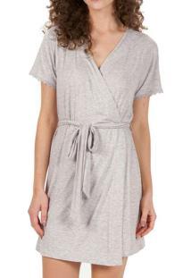 Robe Feminino Curto Cor Com Amor 50095 Mescla-Clar
