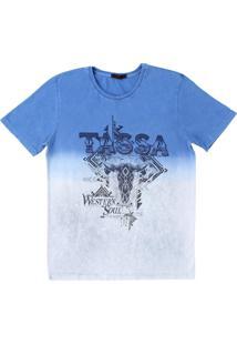 Camiseta Tassa Azul