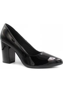 Sapato Zariff Shoes Scarpin Verniz Salto
