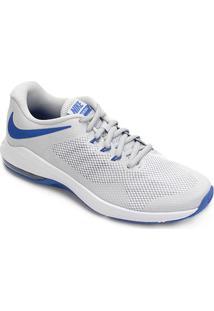 Tênis Nike Air Max Alpha Trainer Masculino - Masculino-Prata+Azul