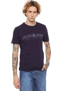 Camiseta John John Basic Monaco Roxa