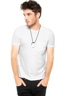 Camiseta Hering Bolso Branca