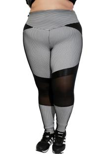 Calça Legging Corpusfit Stronger Plus Size - 3D - Kanui