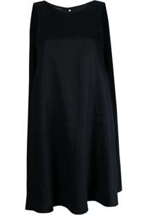 Emporio Armani Vestido Evasê Sem Mangas - Azul