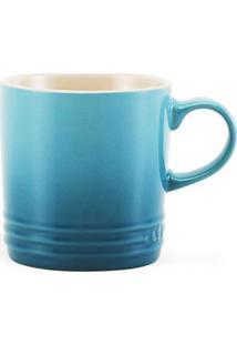 Caneca De Espresso Azul Caribe Le Creuset