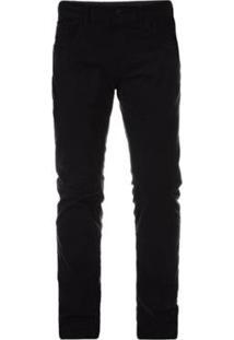 Calça Jeans Oakley 5 Pocket Blackout Masculino - Masculino-Preto