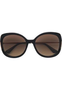 Jimmy Choo Eyewear Lila Sunglasses - Preto