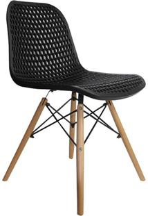 Cadeira Eloisa Colmeia Preta