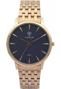 Relógio Tuguir Analógico 5041 Rose E Azul