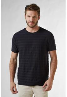Camiseta Listra Textura Reserva Masculina - Masculino