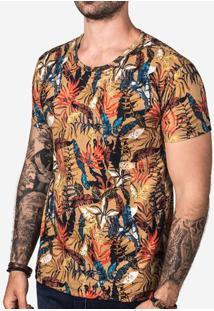 Camiseta Khaki Foliage 102807