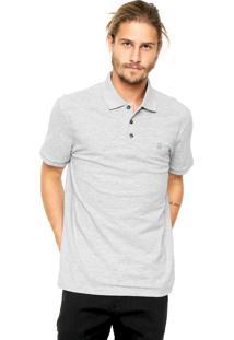 Camisa Polo John John Reta Cinza