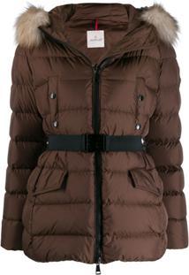 Moncler Clion Padded Jacket - Marrom