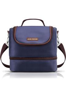 Bolsa Térmica Com 2 Compartimentos Jacki Design For Men Azul