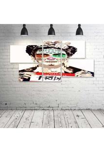Quadro Decorativo - Frida-Arte - Composto De 5 Quadros - Multicolorido - Dafiti