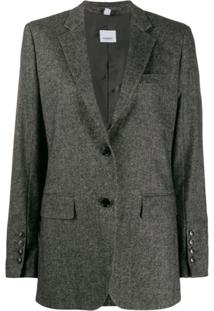Burberry Tweed Jacket - Preto