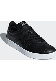 Tênis Adidas Vl Court 20 Feminino - Feminino-Preto+Prata