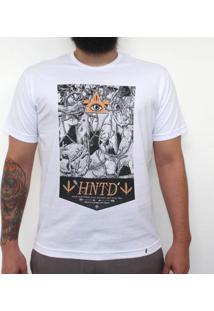 Hntd - Camiseta Clássica Masculina