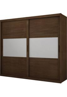Guarda-Roupa Corcovado Top Com Espelho - 2 Portas - 100% Mdf - Castor
