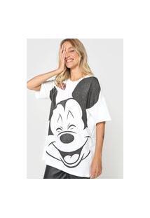 Camiseta Colcci Mickey Mouse Branca