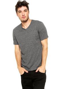 Camiseta Hering Slim Cinza