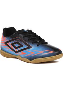 Tênis Futsal Umbro Preto/Azul