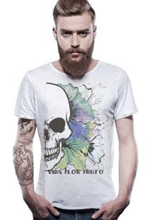 Camiseta Estonada Corte À Fio Joss Fruto Masculina - Masculino
