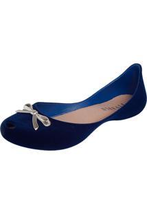 Sapatilha Fiveblu Laço Azul Marinho