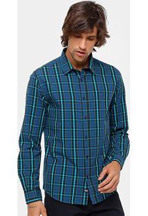 Camisa Xadrez Ellus 2Nd Floor Classic Masculina - Masculino