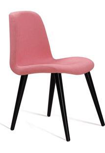 Cadeira Eames Com Base Palito Coral Daf