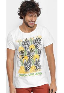 Camiseta Coca-Cola Abacaxi Masculina - Masculino