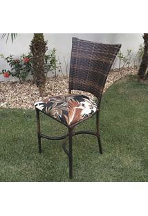 Cadeira Ibiza - Tecido Riviera Marrom - Decora Na Net
