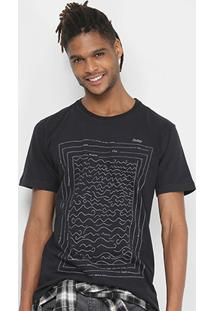 Camiseta Redley Silk Squarelines Masculina - Masculino