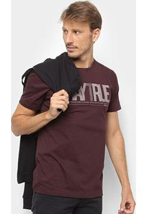 Camiseta Forum Stay True Masculina - Masculino-Marrom