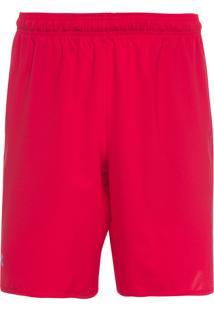 Short Masculino Qualifier Woven - Vermelho