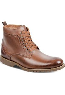 Bota Dress Boot Masculina Sandro Moscoloni Vittorio Marrom