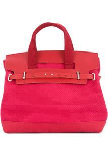 Cabas Bolsa 'Nº55' - Vermelho