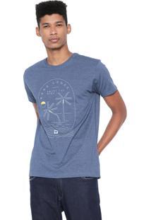 Camiseta Hang Loose Coral Bay Azul