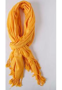 Lenço Feminino Amarelo