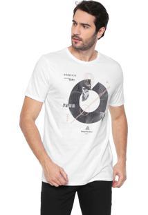 Camiseta Iódice Estampada Branca