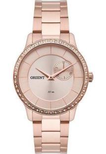 Relógio Orient Feminino Eternal Analógico - Feminino-Rosê