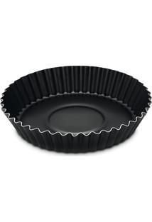 Forma Tramontina P/Torta E Bolo Alumínio 26Cm Preto