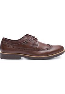 Sapato Masculino Oxford Confort - Marrom