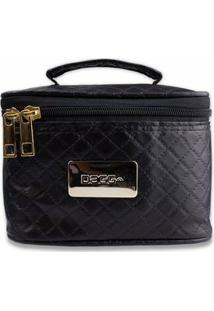Mini Bolsa Térmica Fitness Bag Marmiteira Premium - Unissex-Preto