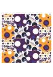 Papel De Parede Autocolante Rolo 0,58 X 3M - Azulejo Disco 286448858