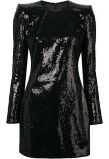 Dsquared2 Sequin Mini Dress - Preto