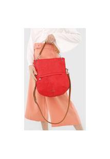 Bolsa Transversal Across Body Bag Hela Vermelho