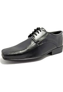 Sapato Social La Faire 9500 Preto