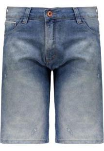 Bermuda Jeans Hd Slim Masculina - Masculino
