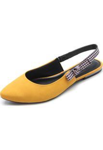 Sapatilha Dakota Camurça Amarela
